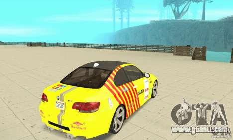 BMW M3 2008 for GTA San Andreas engine