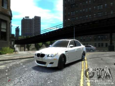BMW M5 E60 for GTA 4 left view