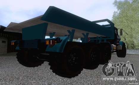KrAZ 7140H6 Trial for GTA San Andreas right view