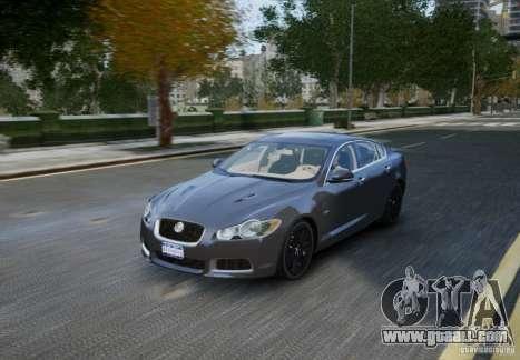 Jaguar XFR 2010 V.2.0 for GTA 4 upper view