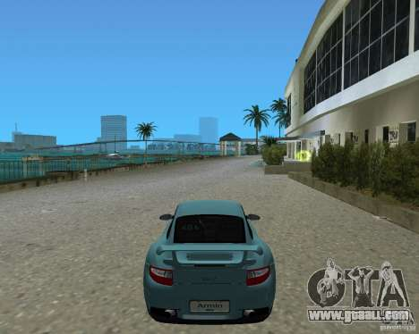 Porsche 911 GT2 for GTA Vice City back left view