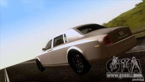 Rolls Royce Phantom Hamann for GTA San Andreas side view
