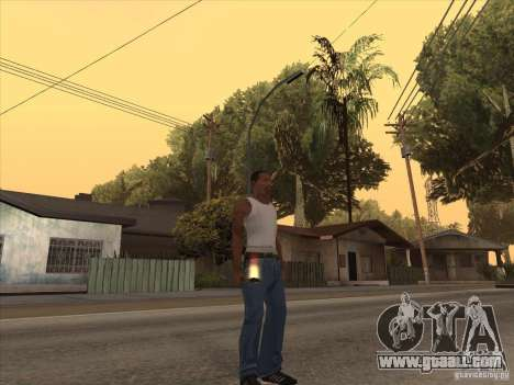 New Domestic Weapons Pack for GTA San Andreas second screenshot