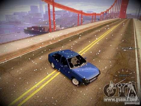 Lada Priora Turbo v2.0 for GTA San Andreas