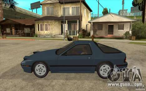 Mazda RX7 FC3S Stock for GTA San Andreas left view