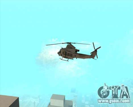 UH-1 Iroquois for GTA San Andreas right view