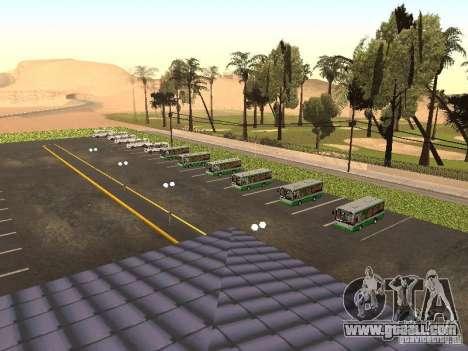 5 Bus v. 1.0 for GTA San Andreas second screenshot