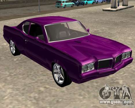 Oldsmobile 442 (Flatout 2) for GTA San Andreas back left view