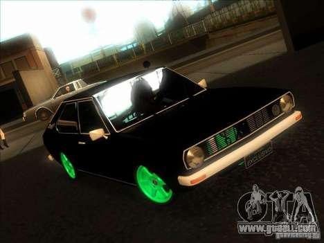 Volkswagen Passat 1.9A for GTA San Andreas back view