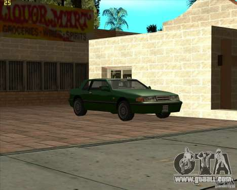 Car in Grove Street for GTA San Andreas ninth screenshot