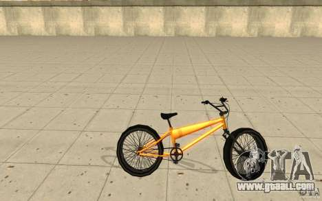 BMX Long Big Wheel Version for GTA San Andreas left view