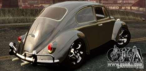 Volkswagen Fusca for GTA 4 left view