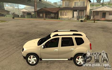 Dacia Duster 2010 SUV 4x4 for GTA San Andreas left view