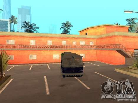 IKARUS 620 for GTA San Andreas back left view