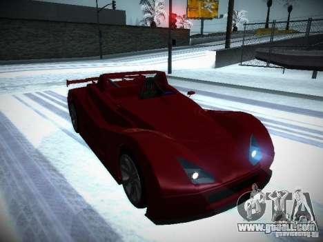 Lada Revolution for GTA San Andreas back view