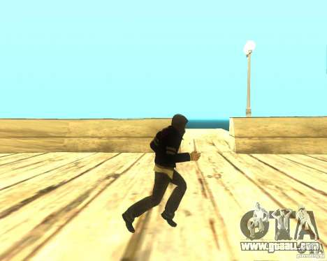 Alex Mercer ORIGINAL for GTA San Andreas forth screenshot