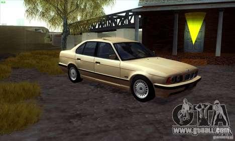 BMW 525 E34 V.3 for GTA San Andreas