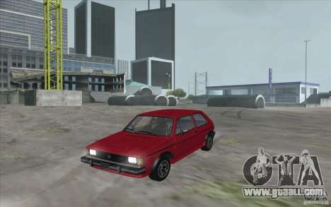 Volkswagen Rabbit 1986 for GTA San Andreas