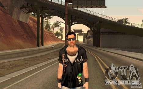Biker for GTA San Andreas