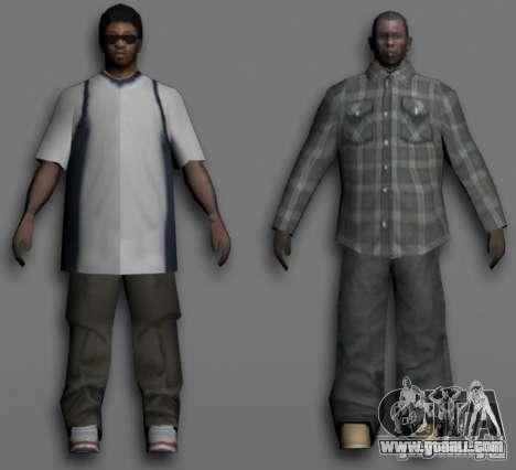 Beta Peds for GTA San Andreas fifth screenshot