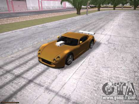 TVR Cerbera Speed 12 for GTA San Andreas side view