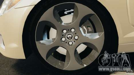 Jaguar XFR 2010 v2.0 for GTA 4 right view