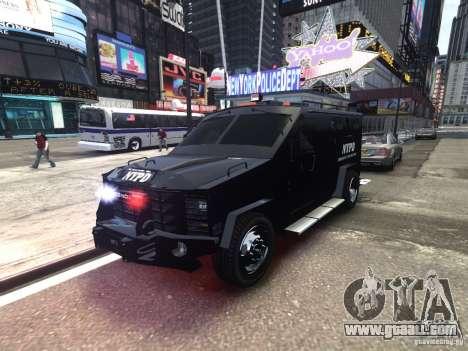 Lenco BearCat NYPD ESU V.1 for GTA 4