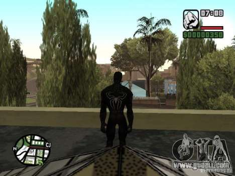 Spider-man enemy in reflection for GTA San Andreas fifth screenshot