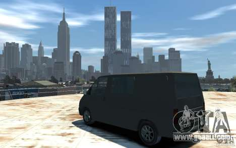 Ford Transit 1999 for GTA 4 left view