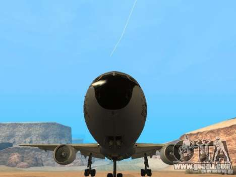 Boeing KC767 U.S Air Force for GTA San Andreas back view