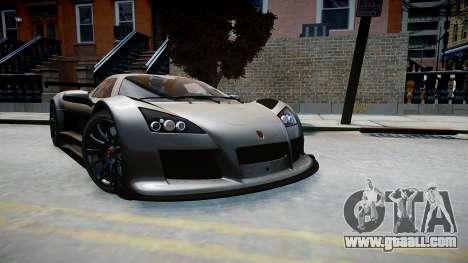 Gumpert Apollo Sport 2011 for GTA 4 right view