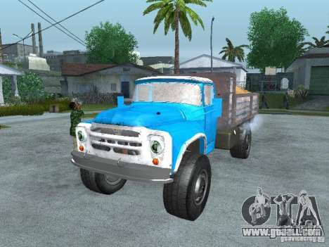 ZIL 130 garbage truck for GTA San Andreas