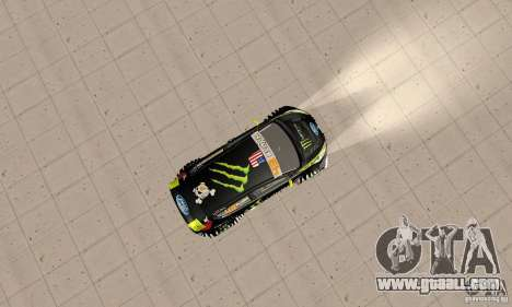Ford Fiesta 2011 Ken Blocks for GTA San Andreas right view
