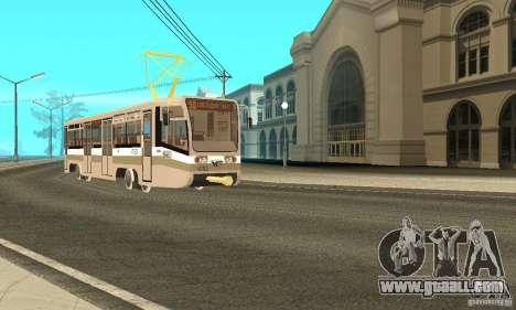 Tramcar 71-619 CT (KTM-19) for GTA San Andreas