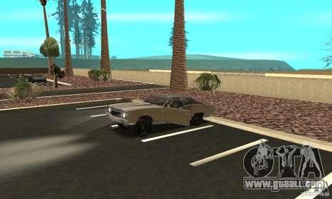 Chevy Monte Carlo [F&F3] for GTA San Andreas upper view