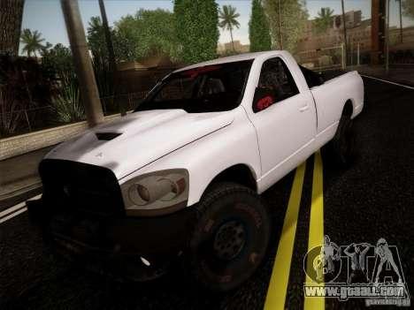 Dodge Ram 1500 4x4 for GTA San Andreas