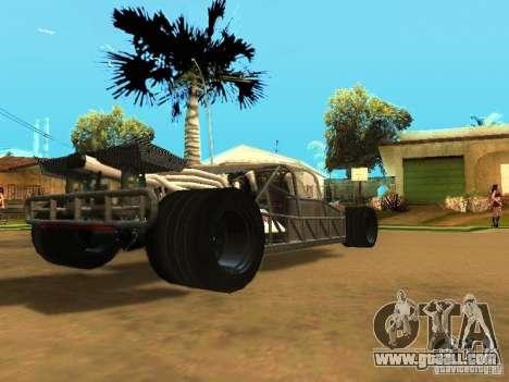 Fast & Furious 6 Flipper Car for GTA San Andreas upper view