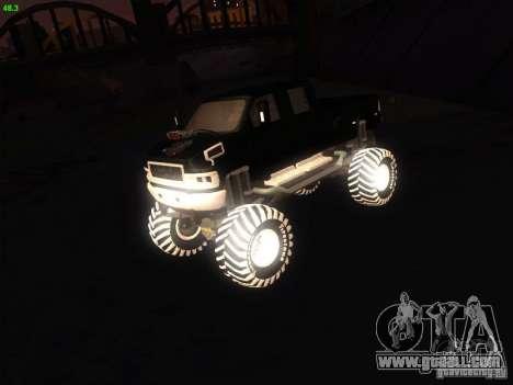 GMC Monster Truck for GTA San Andreas