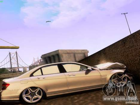 Mercedes-Benz C36 AMG for GTA San Andreas right view