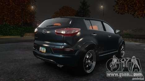 Kia Sportage 2010 v1.0 for GTA 4 right view