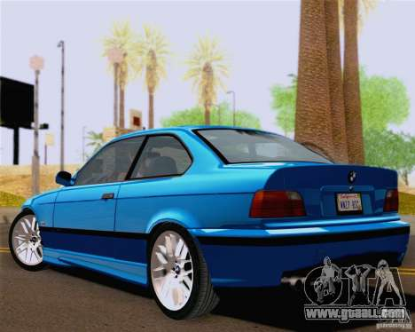 BMW M3 E36 New Wheels for GTA San Andreas right view