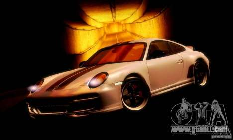 Porsche 911 Sport Classic for GTA San Andreas left view