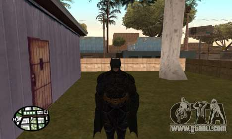 Dark Knight Skin Pack for GTA San Andreas third screenshot