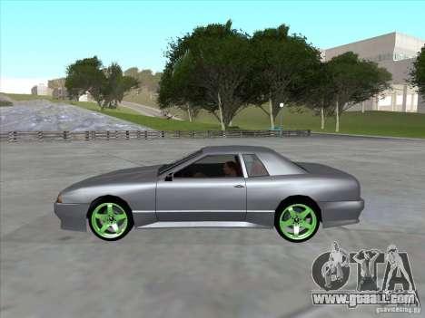 Elegy Full VT v1.2 for GTA San Andreas right view
