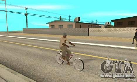 Lowrider Bicycle for GTA San Andreas right view