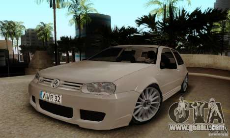 Volkswagen Golf GTI R32 for GTA San Andreas