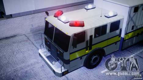 Royal Logistic Corps Bomb Disposal Truck for GTA 4 back view