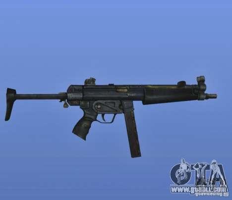 S.T.A.L.K.E.R. MP5 for GTA 4