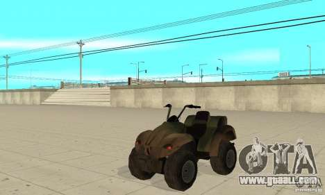 ATV from TimeShift for GTA San Andreas