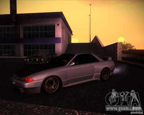 Nissan Skyline (R32) SHE for GTA San Andreas left view